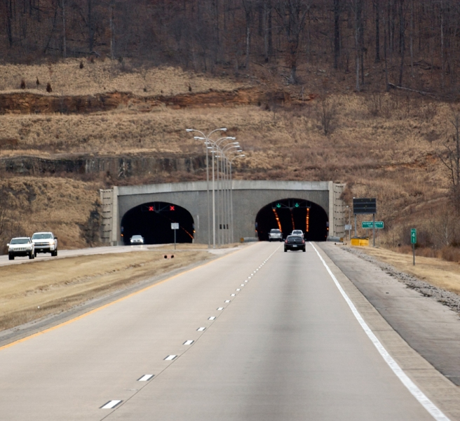 Approaching Bobby Hopper Tunnel